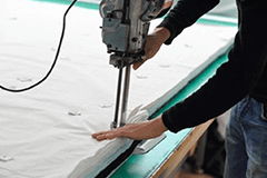 Precisely Cut Material - cloth bags manufacturer