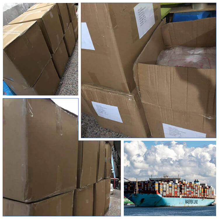 product packaging and shipping