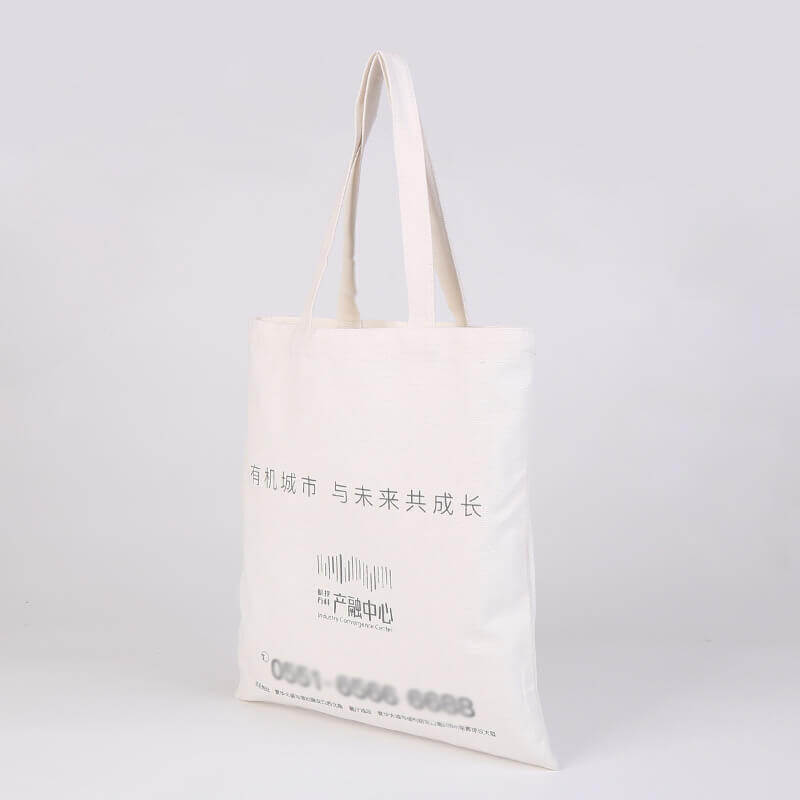 Canvas Bag for the Opening of A Building