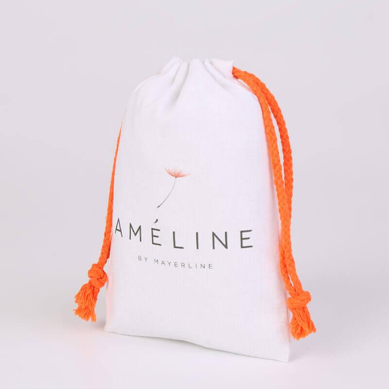 Cotton Drawstring Bag for Améline