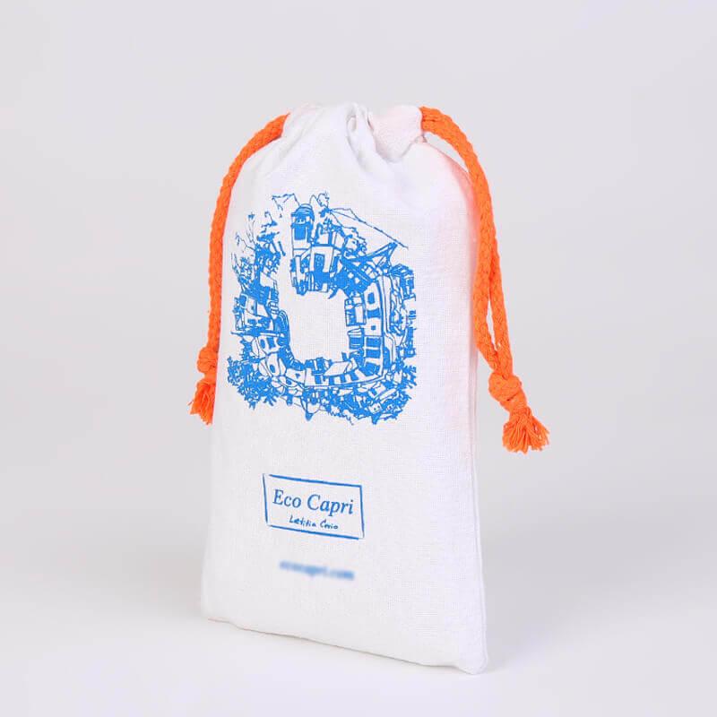 Cotton Drawstring Bag for Eco Capri