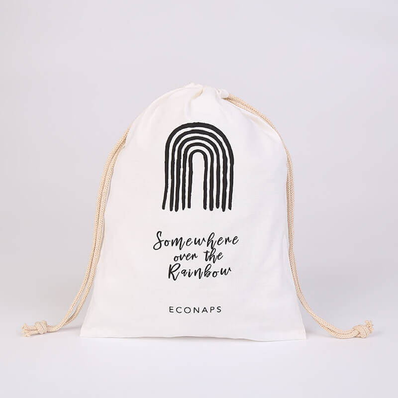 Cotton Drawstring Bag for EcoNaps