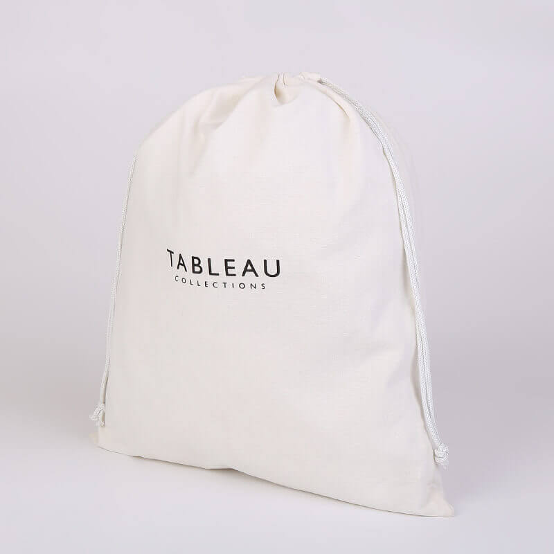 Cotton Drawstring Bag for Tableau Collections