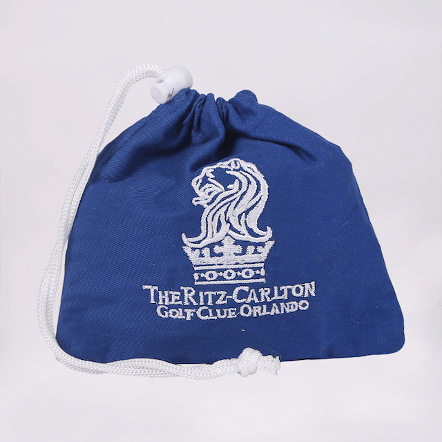 Drawstring Bag for The Ritz-Carlton Hotel Company