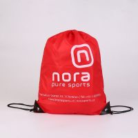 Polyester Drawstring Bag for Nora Pure Sports