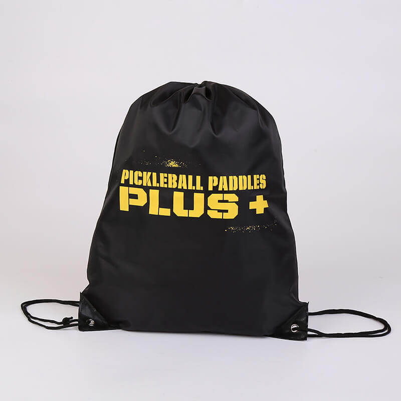 Polyester Drawstring Bag for Pickleball Paddles