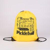 Polyester Drawstring Bag for Pickleball