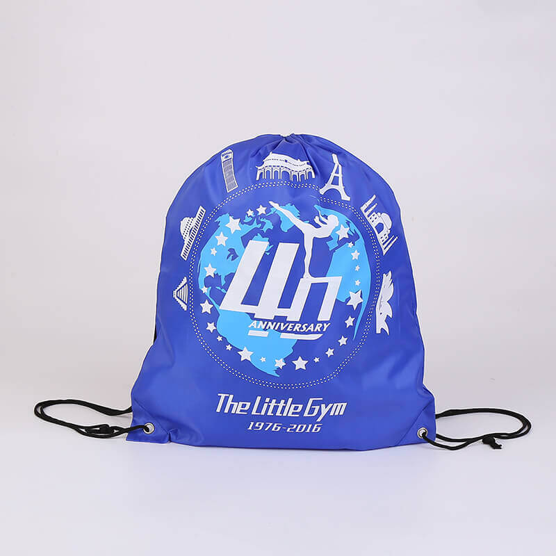 Polyester Drawstring Bag for The Little Gym