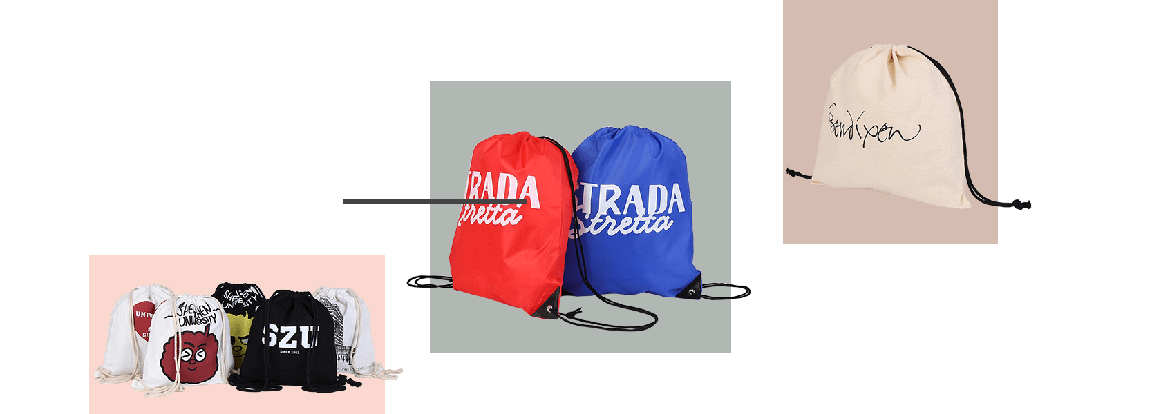 Cloth Bag Manufacturer - Drastring Bag
