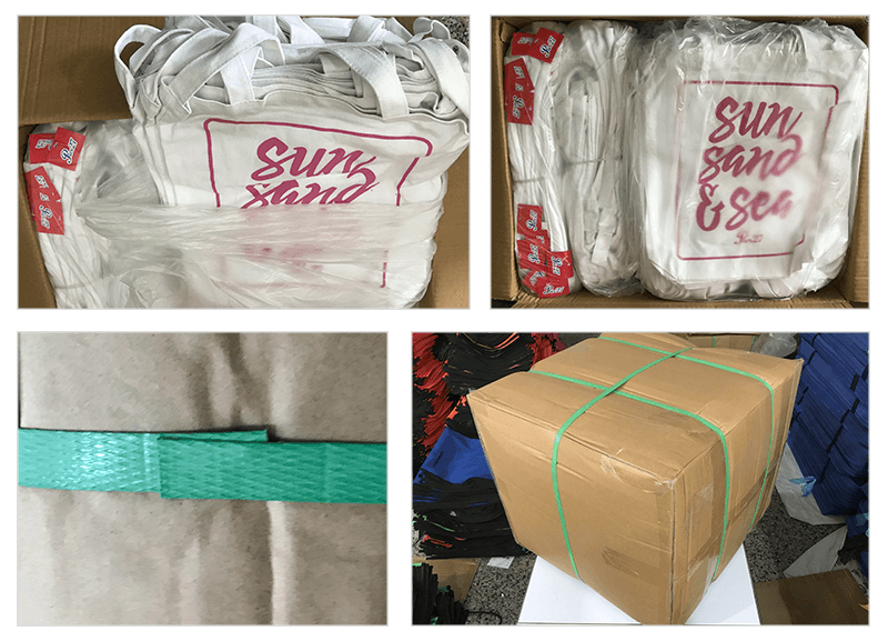 package for canvas bags