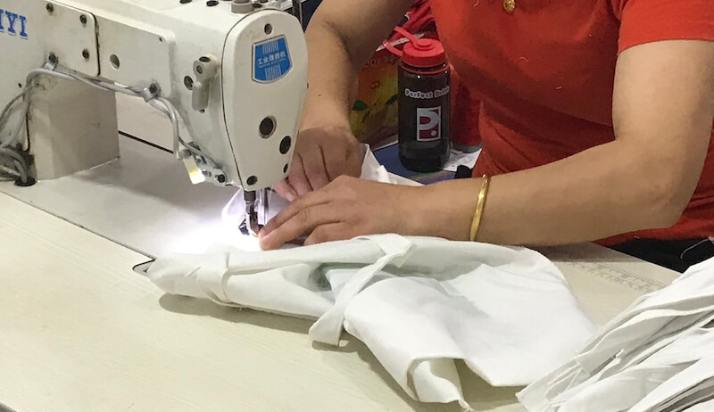 sewing for canvas bag